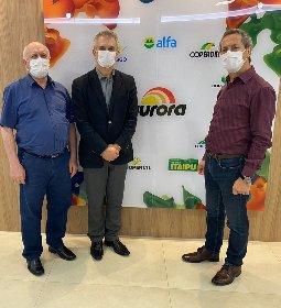 Aurora e Sebrae/SC reafirmam prioridade para o programa Encadeamento Produtivo