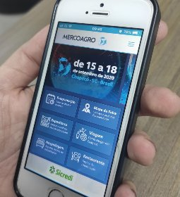 Aplicativo da Mercoagro 2020 para smartphone: todas as informações na palma da mão