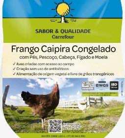 Frango caipira sem transgênicos da Korin passa a ser vendido no Carrefour