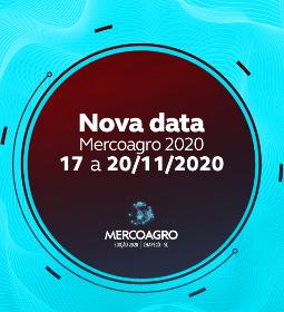 C O M U N I C A D O - Mercoagro 2020 transferida para novembro