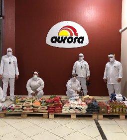 Sistema Aurora arrecada 18,5 toneladas de alimentos e 10 mil itens de higiene e limpeza
