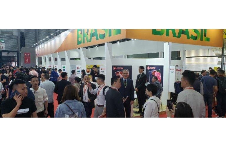 ABPA promove exportações brasileiras em feira de alimentos da China