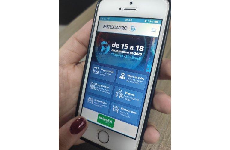 Los expositores pueden acceder a la información por App