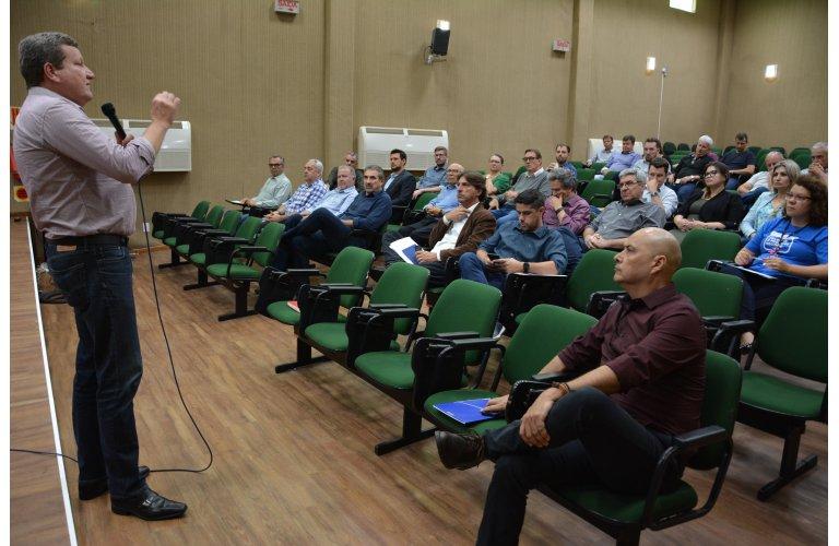 Prefeitura de Chapecó inicia diagnóstico de competitividade do Parque da Efapi