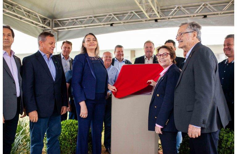 Aurora inaugura em Chapecó o maior Frigorífico de suínos do Brasil