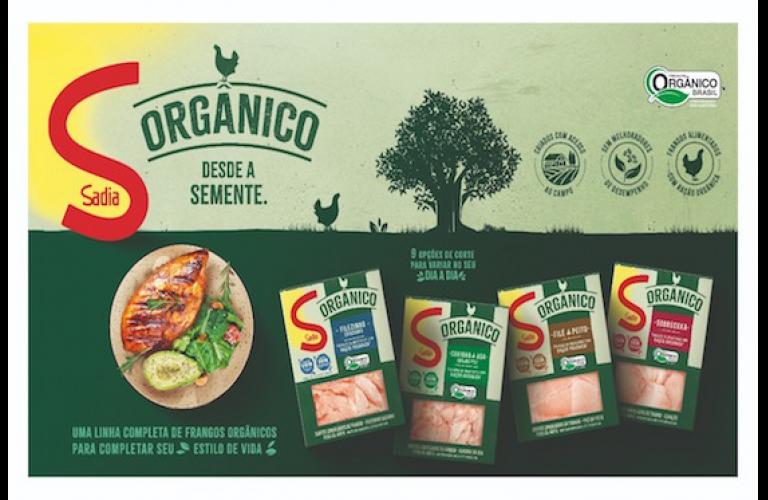 Sadia anuncia lançamento de linha de frango orgânico