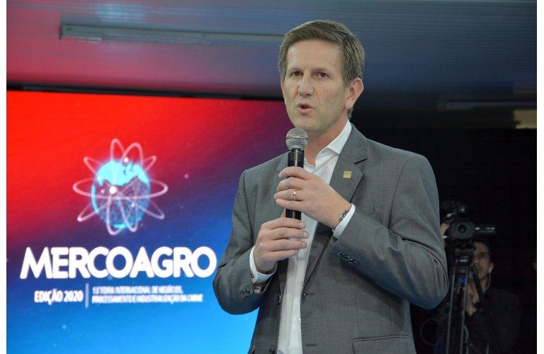 Cidnei Barozzi destacou que a Mercoagro é uma das maiores feiras técnicas da indústria mundial de alimentos